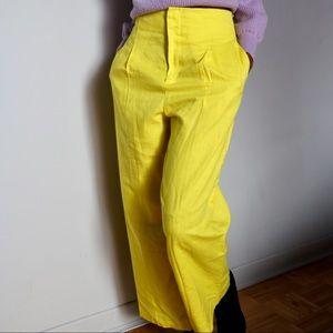 Yellow Neon Pants